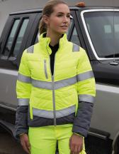 Womens Soft Padded Safety Jacket