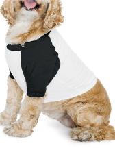 Dog Poly-Cotton 3/4 Sleeve Raglan T-Shirt